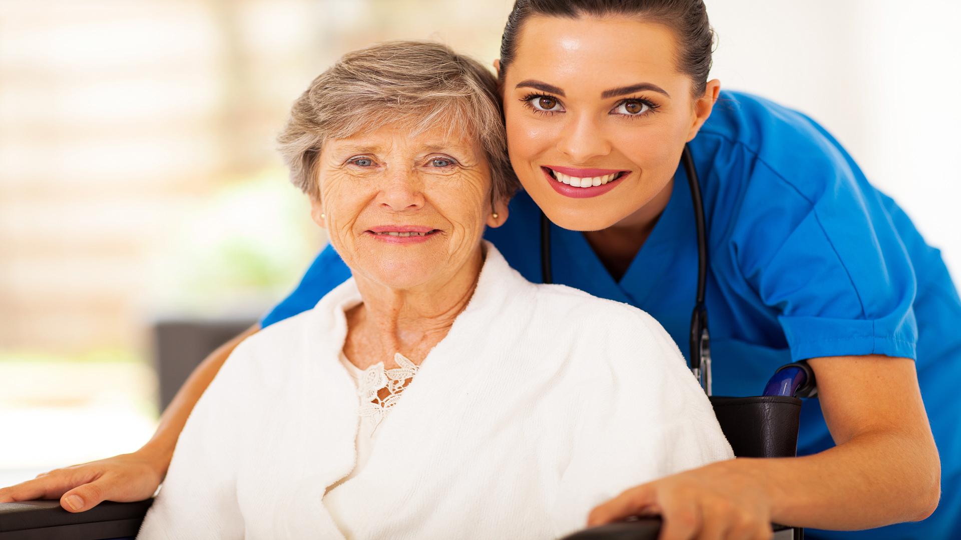 elderly care giver